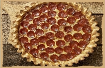 Picture of 9-inch pizza with one topping(Only Available From 11 AM- 2 PM)